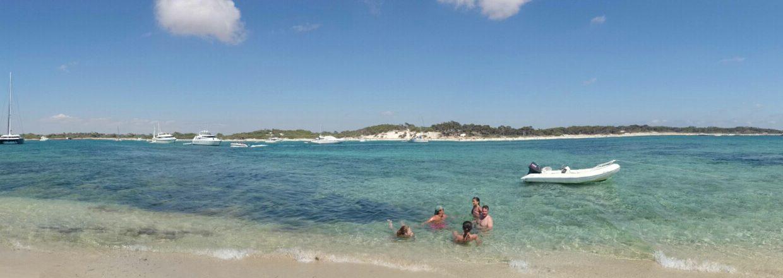 Playa Es Carbó desde Na Moltona