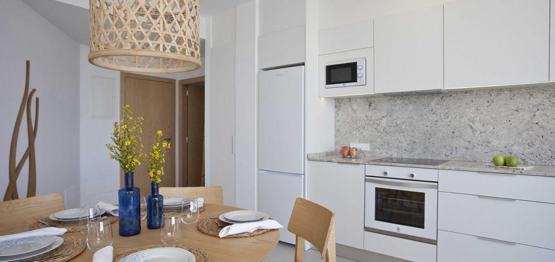 cocina küche apartaments posidonia