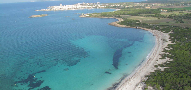 Es Trenc Mallorca view