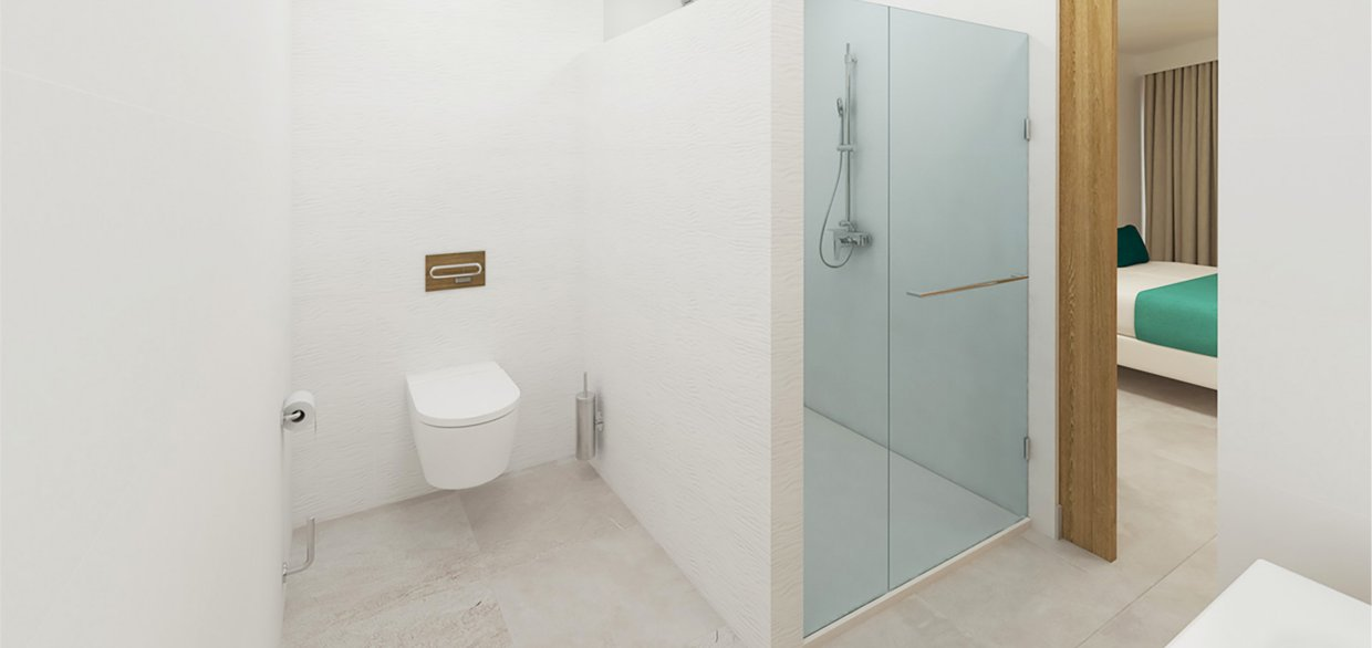 Apartaments Posidonia Colonia Sant Jordi Bathroom