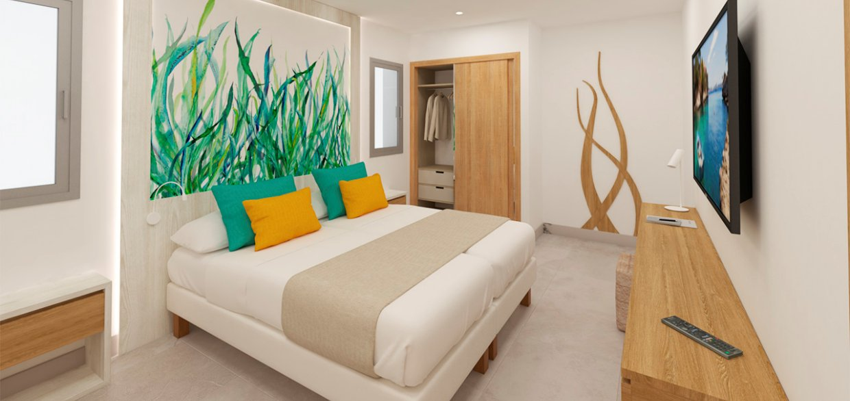 Apartaments Posidonia Colonia Sant Jordi Bedroom