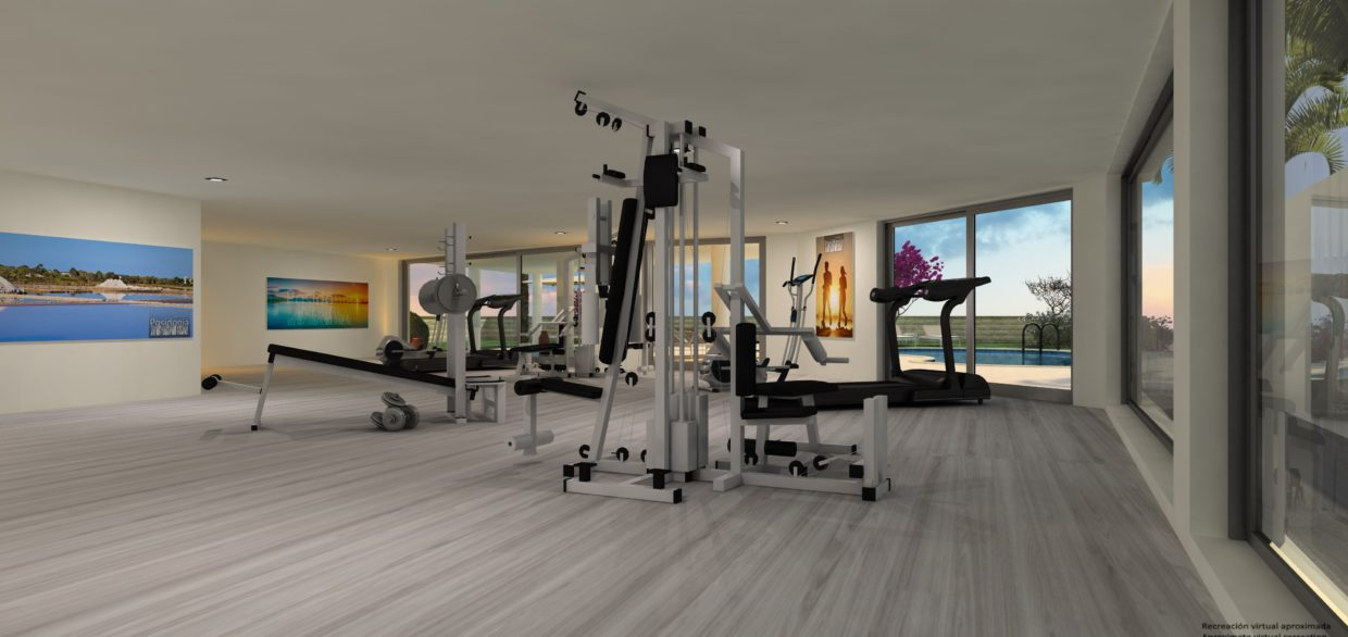 Apartaments Posdidonia Fitness Room