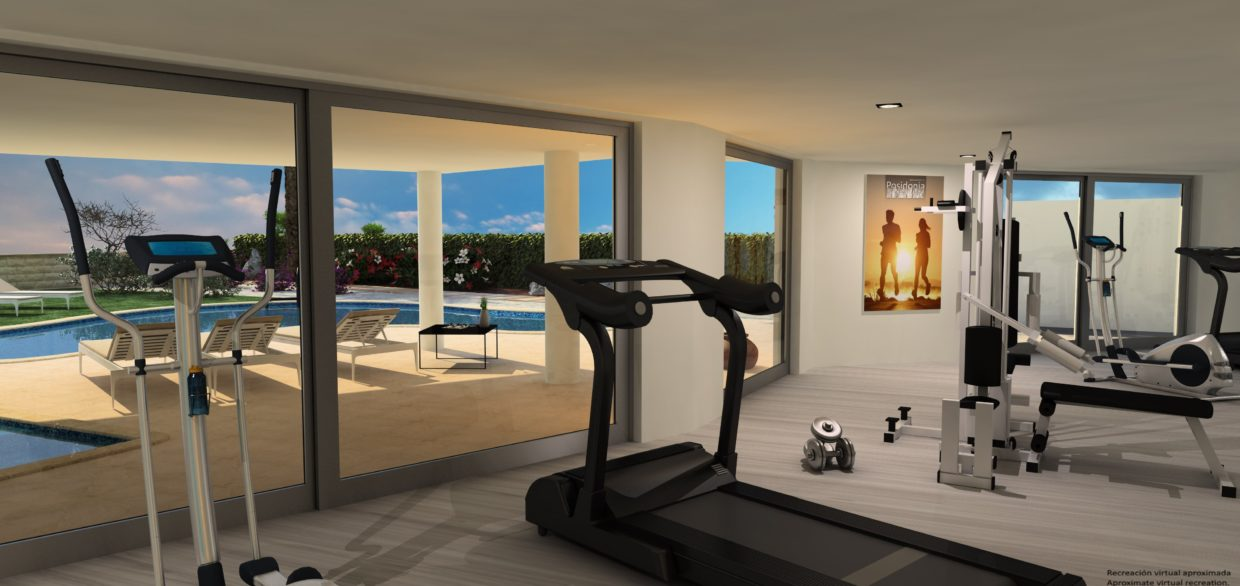 Colonia Sant Jordi Apartments with Fitness Room