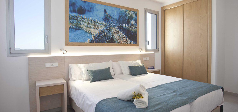 habitación apartaments posidonia
