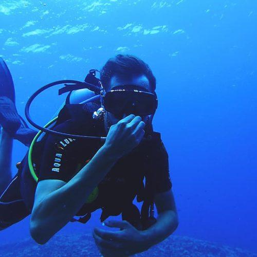 people-blue-diver-divers